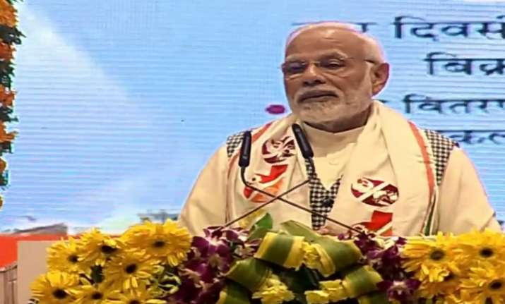LIVE   PM Modi pushes for 'One district, One product' at