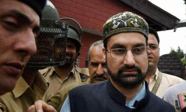 Moderate separatist leader and cleric Mirwaiz Umar Farooq