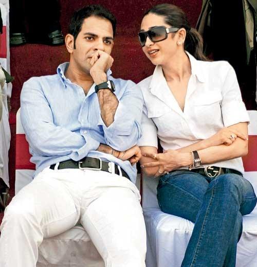 Karisma Kapoor and Sunjay Kapoor