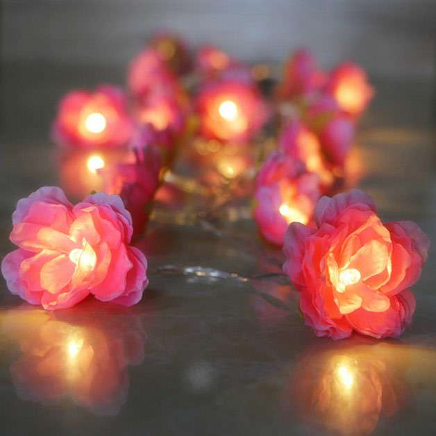 Diwali special decoration ideas diy flower lights put your fairy lights to some unconventional use this diwali use solutioingenieria Image collections