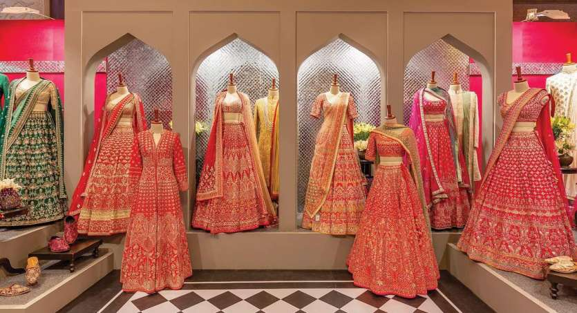 131a717ef28b House of Anita Dongre exclusive wedding collection at Vogue Wedding Show  2018.