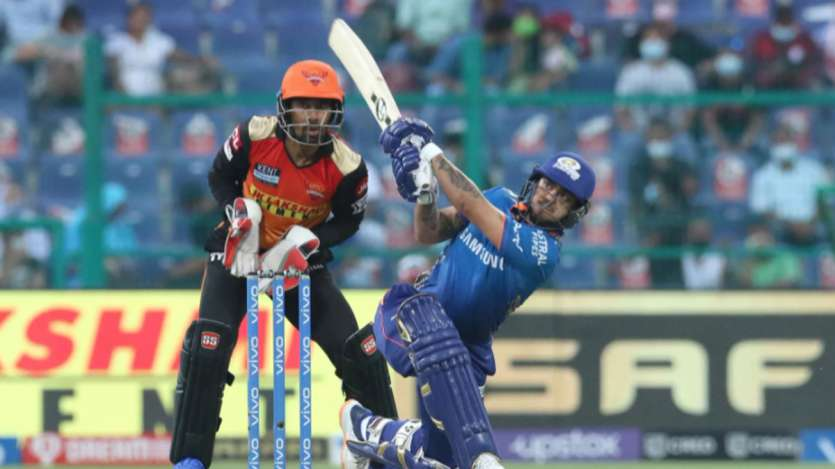 IPL 2021, Match 55: MI defeat SRH by 42 runs but fail to qualify for  playoffs - In Pics