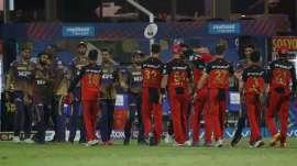 Kolkata Knight Riders and Royal Challengers Bangalore