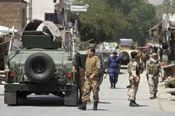 The attack in Jalalabad targeted the compound of the