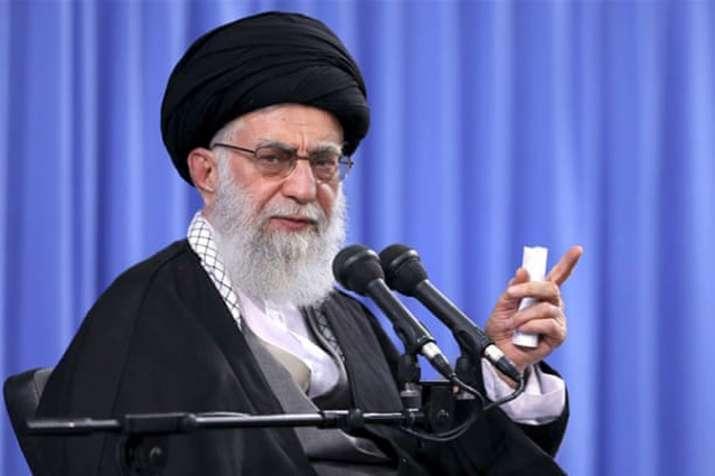 Iran's supreme leader Ayatollah Khamenei