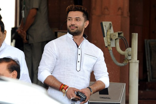 File photo of Chirag Paswan