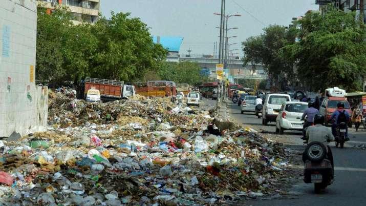 Delhi garbage disposal