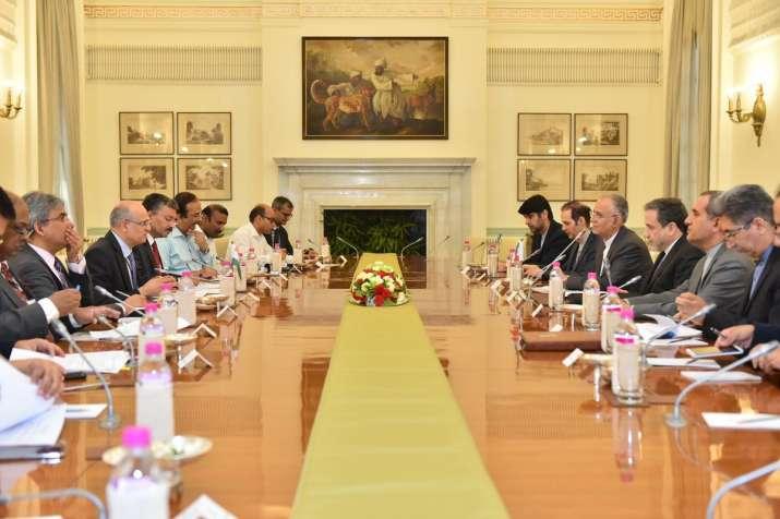 Foreign Secretary Vijay Gokhale and Deputy Foreign Minister