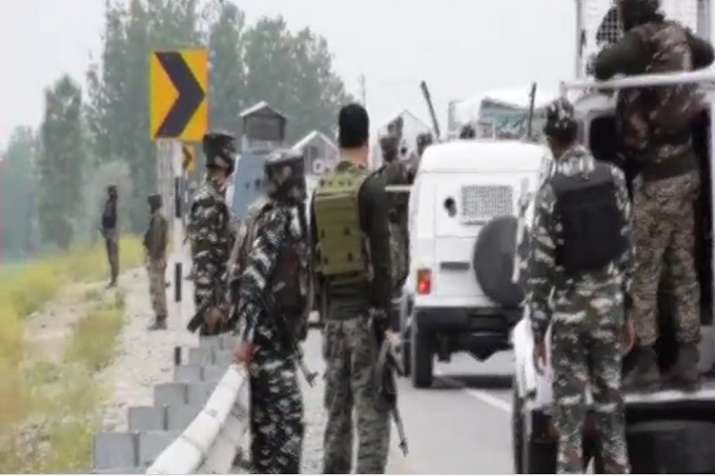 The militants lobbed the grenade at the deployment of CRPF