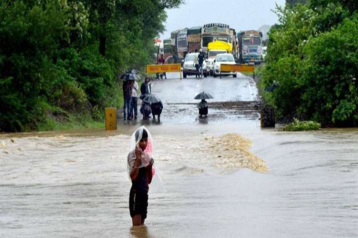 Weather agencies have also predicted flash floods and