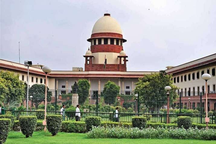 The special bench of the Supreme Court headed by Chief