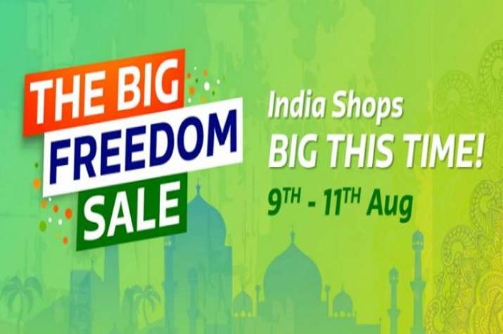 Promotional poster of Flipkart's 'Big Freedom Sale'