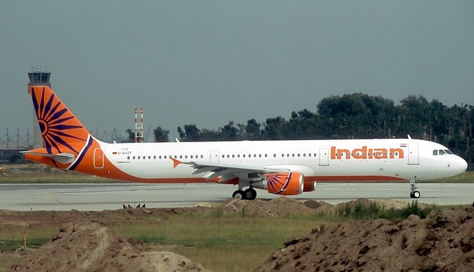 File photo of an Indian Airlines plane