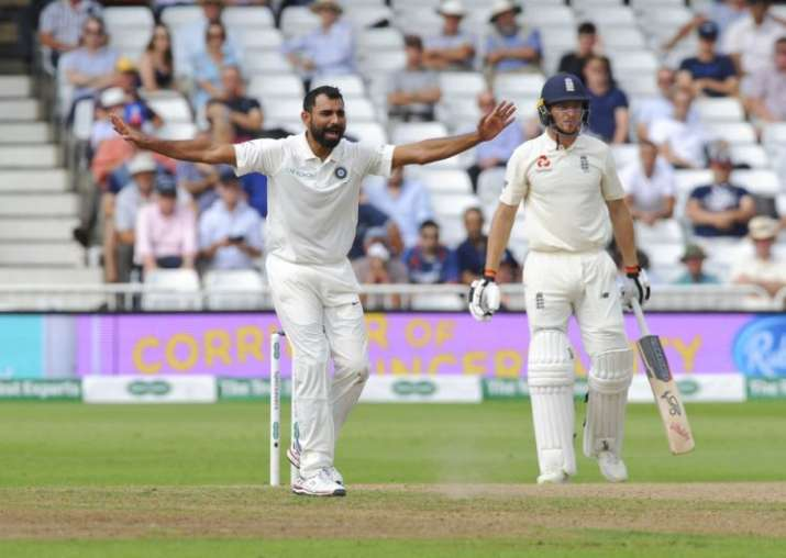 Mohammed Shami India vs England 2018