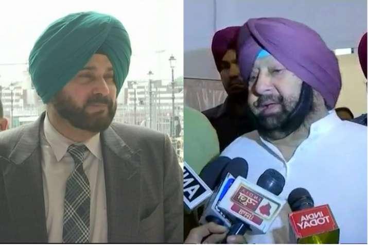 Punjab CM slams his fellow Congress leader Navjot Singh