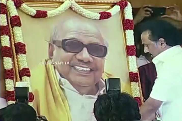 Stalin elected as DMK president during party general council meeting