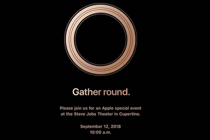 Apple iPhone September Event 2018