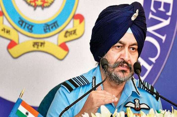 Air Chief Marshal BS Dhanoa.