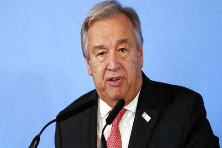 Guterres had visited India in July 2016, just months ahead