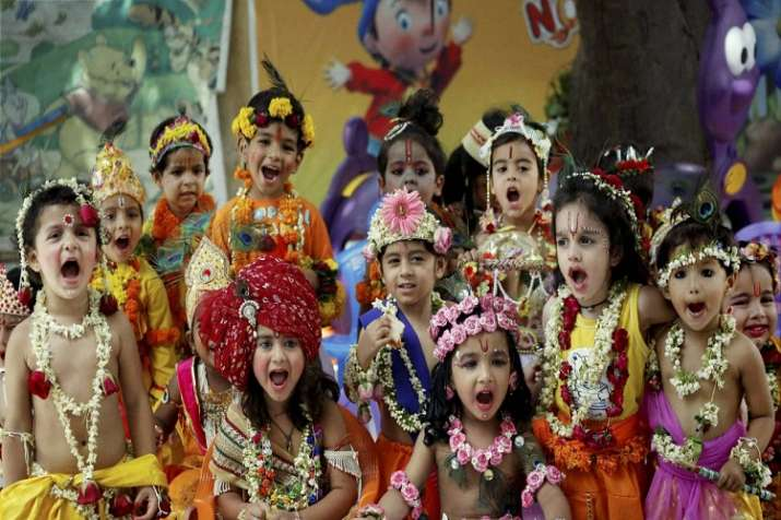 Janmashtami, the birthday of Lord Krishna, is celebrated