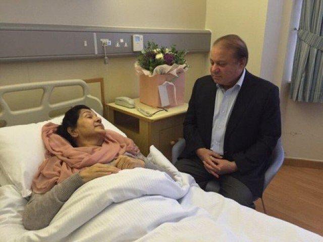 Begum Kulsoom Nawaz, Prime Minister Nawaz Sharif