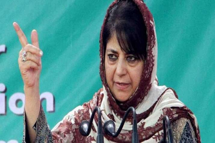 Former J-K CM and PDP chief Mehbooba Mufti