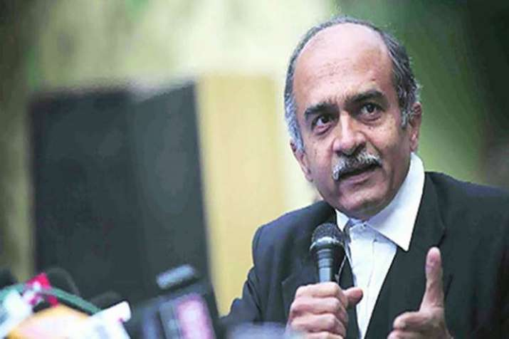 Bhushan also lashed out at the BJP-led government and said