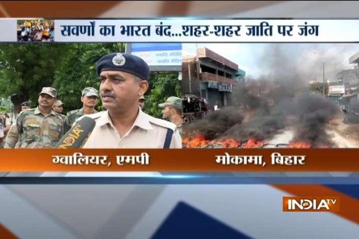 Bharat Bandh protests