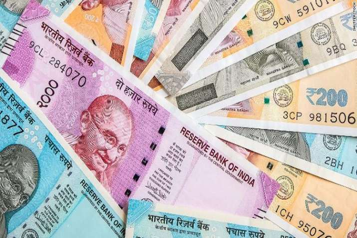 The rupee on Tuesday slid further 47 paise to settle at a
