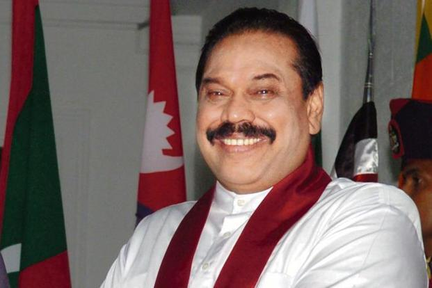Former president Rajapaksa was sworn in as the country's