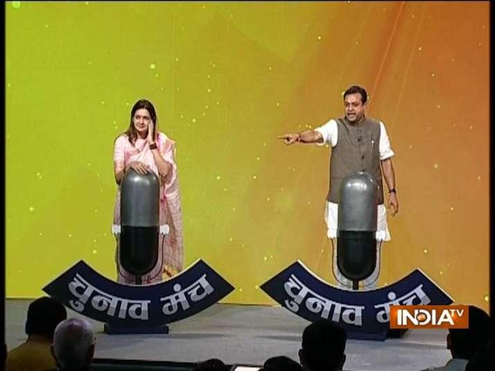 Chunav Manch: 'Reveal Rahul Gandhi's gotra', BJP's Sambit