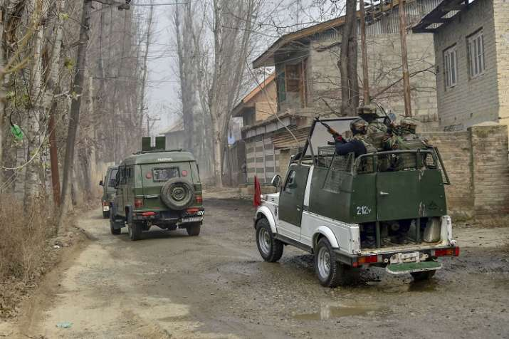Security forces launched a cordon and search operation in