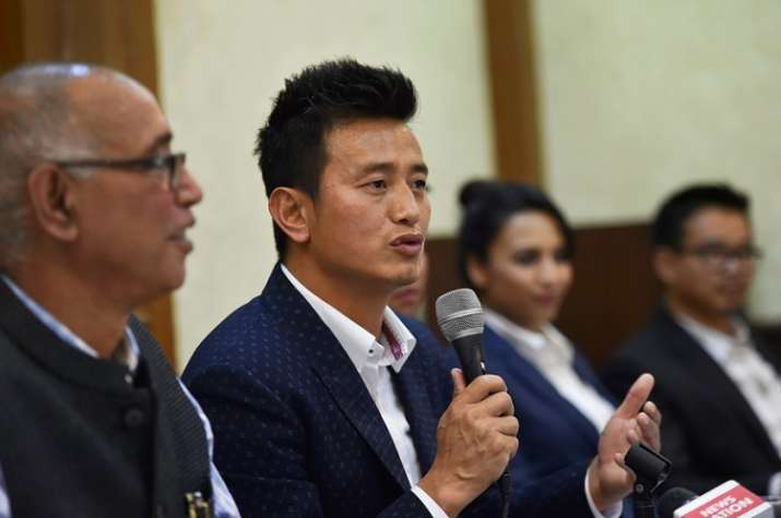 Bhaichung Bhutia said his party is ready to join hands with