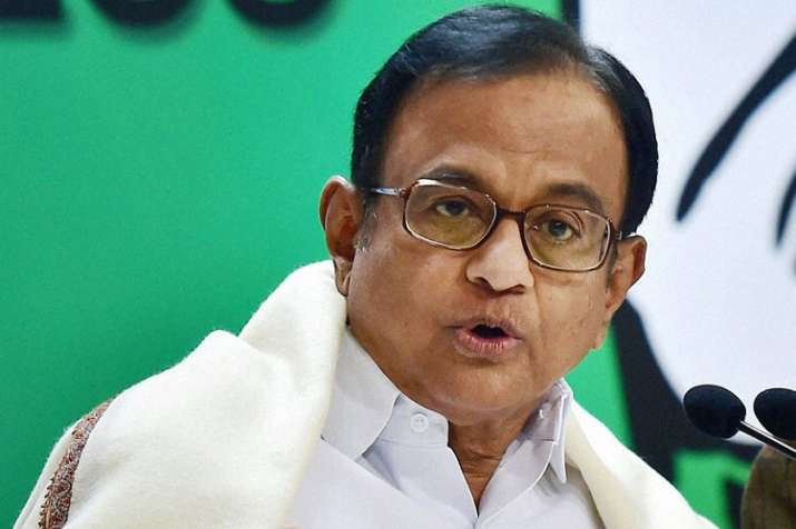 In a dig at Modi, Chidambaram said he was grateful that
