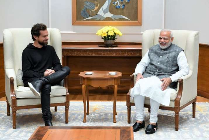 PM Modi with Twitter CEO Jack Dorsey