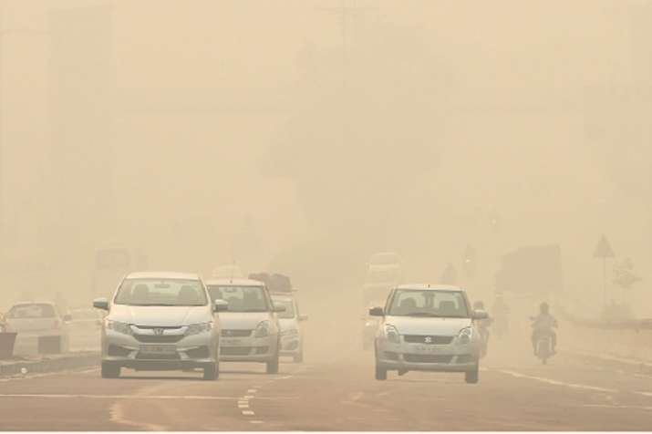 A thick haze engulfed Delhi on Thursday as it recorded