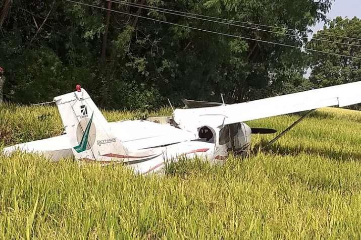aircraft crash hyderabad
