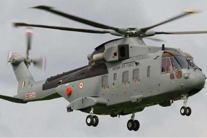 A file photo of AgustaWestland (AW101) VVIP Airforce
