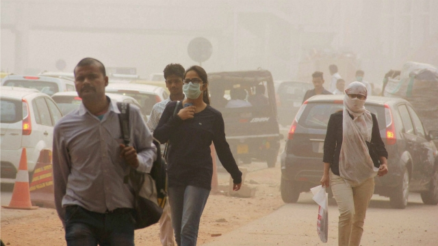 Delhi's air quality recorded 'very poor'