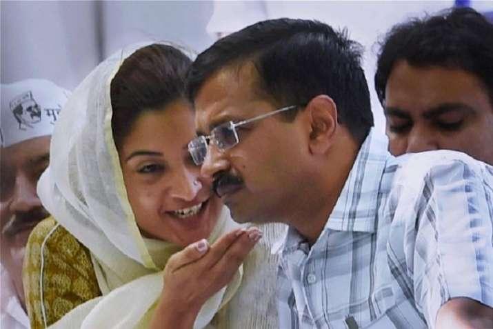 Alka Lamba resignation AAP resolution Rajiv Gandhi resolution