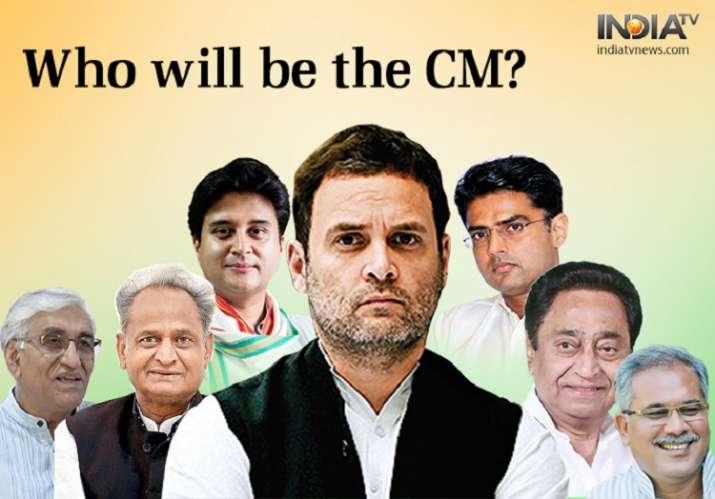 Rahul Gandhi said a decision over CMs of Rajasthan, Madhya