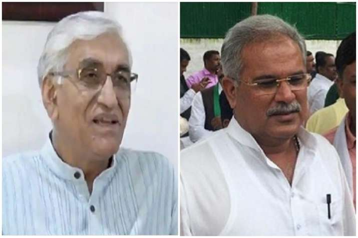 T S Singh Deo and Bhupesh Baghel