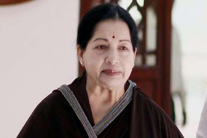Former Tamil Nadu CM J Jayalalithaa