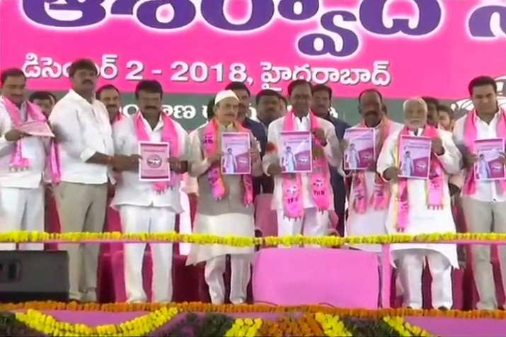 TRS releases its manifesto