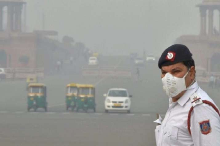 Delhi's air quality turned severe on Sunday.