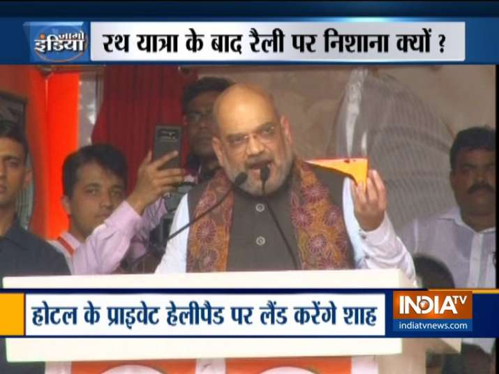 BJP chief Amit Shah to sound poll bugle at Malda rally today