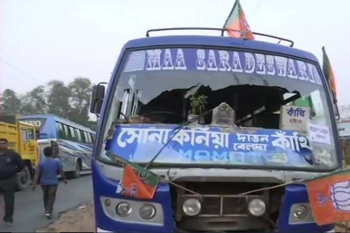 BJP workers allege attack by TMC supporters