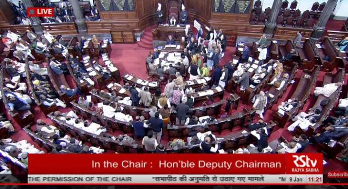 Rajya Sabha debate on Bill for 10 per cent reservation for economically weaker in Upper castes