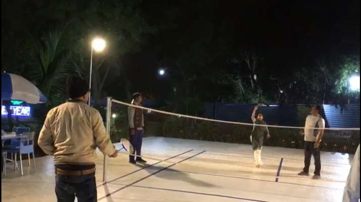 Watch: West Bengal CM Mamata Banerjee smashes Internet with her viral 'badminton' video
