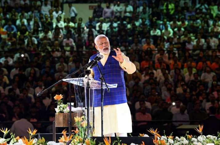 Surat: Prime Minister Narendra Modi addresses the New India